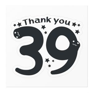 MTCT118 39*Thank you*A