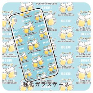 強化ガラスケース *スマートフォンケース *CT125 BEER!BEER!BEER!*D*8KG