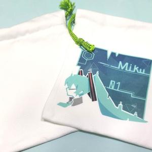【初音ミク】Miku巾着