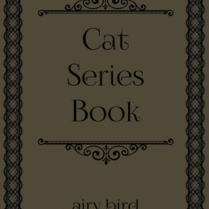 Cat Series Book【SALE】