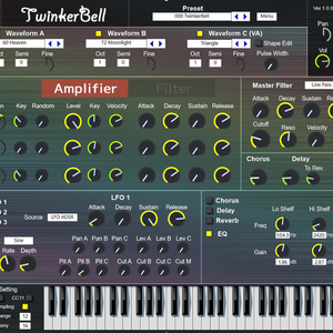 TwinkerBell / シンセベル専用音源VST