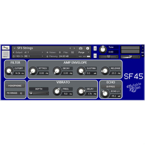SF45 Library for KONTAKT