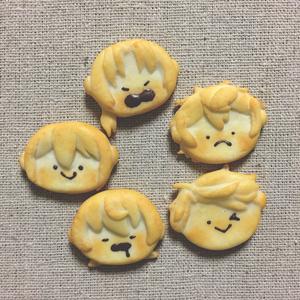 【再販】Knightsクッキーブローチ