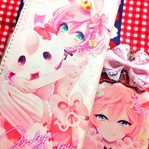 手帳型ケース♡my little rabbit♡