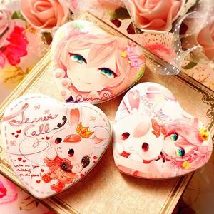 ♡heart can badge♡