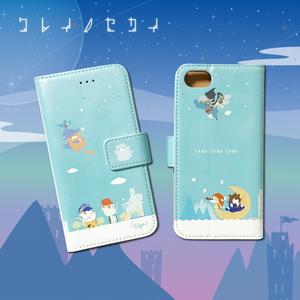 【クレイノセカイ】 iPhone手帳型ケース