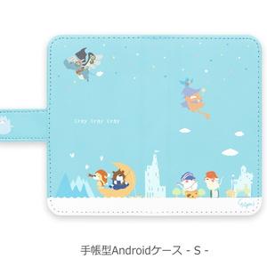 【クレイノセカイ】手帳型Androidケース