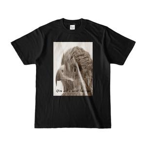 Tシャツ(鳥)ブラック