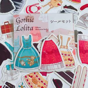 「Gothic&Lolita」イラスト本&シールセット