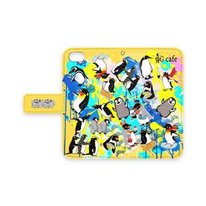 ★PGcafe★ペンギンiPhone手帳型ケース【7/8】