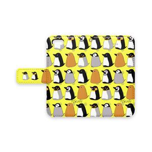 ★ペンギンカフェ★iPhone手帳型ケース