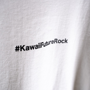#KawaiiFutureRock T-shirt (White)