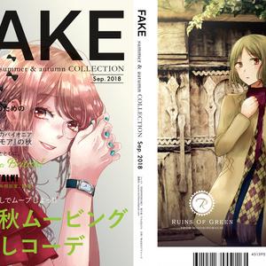 FAKE summer & autumn COLLECTION