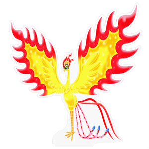火の鳥アクリルフィギュア
