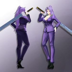 Shion | 紫苑 - VRChat [転スラ] 3Dモデル - v1.1