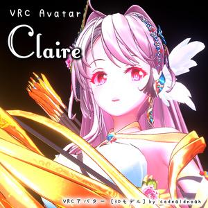 オリジナル3Dモデル 「クレア」 | Claire -ver1.1