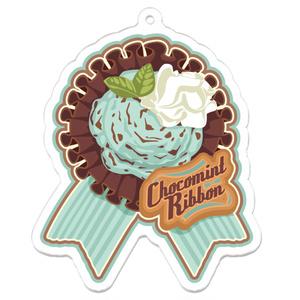 CHOCOMINT*RIBBONアイスクリームアクリルキーホルダー