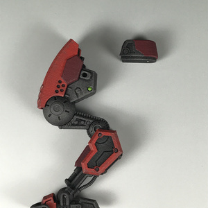 3Dプリントキット メガミデバイス用レッグユニット(白)