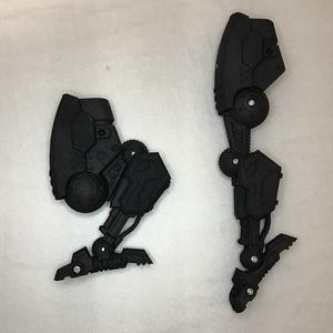 3Dプリントキット メガミデバイス用レッグユニット(黒)
