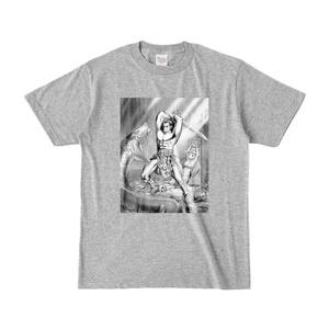 バーバリアン Tシャツ(杢グレー)