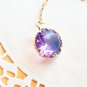 花の魔術師の耳飾り 紫陽花