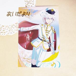 鉱石×少年 ポストカードセット 6枚組 春夏