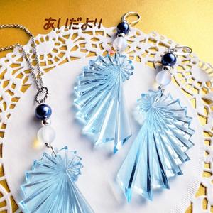 氷の装飾具 ピアス/イヤリング/ペンダント