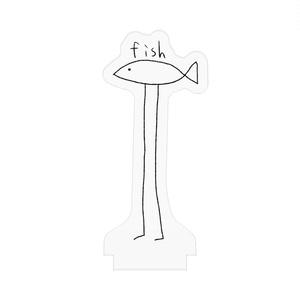 fishアクリルスタンド(文字入り)