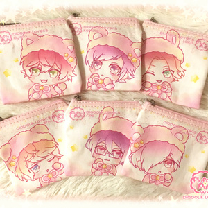 fluffy puff✩square pouch