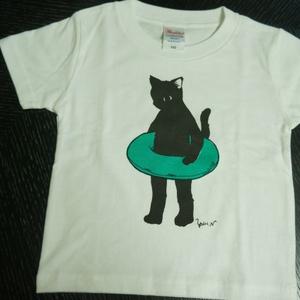 キッズTシャツ100size オリジナル猫キャラクター