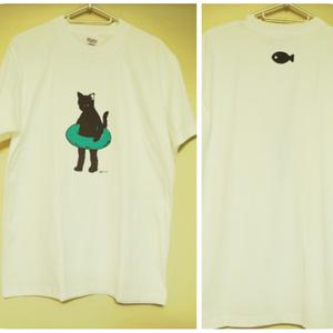 大人Tシャツ Msize オリジナル猫キャラクター
