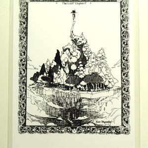 Last Elephant ポストカード
