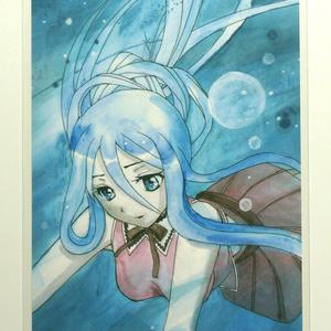 人魚姫タカオ アニメキャラポストカード