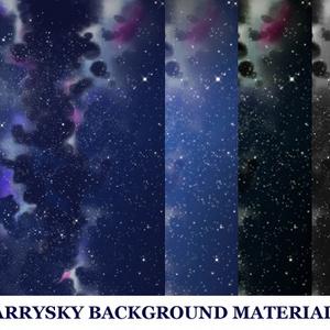 星空の背景素材高解像度03