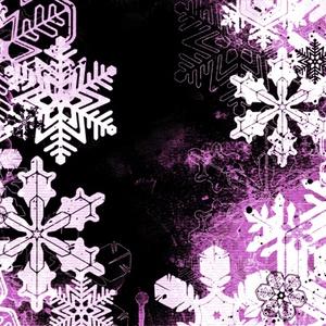 雪の結晶背景素材高解像度