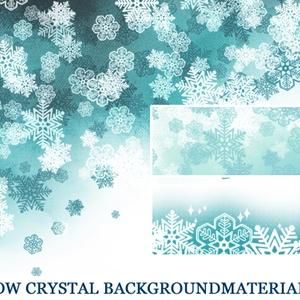 雪の結晶背景素材高解像度02