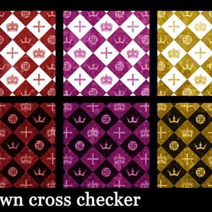 クラウンクロスチェッカーテクスチャ高解像度