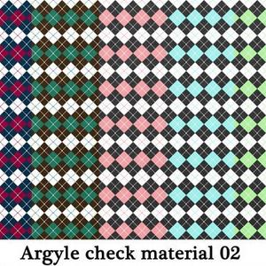 アーガイルチェック素材02高解像度