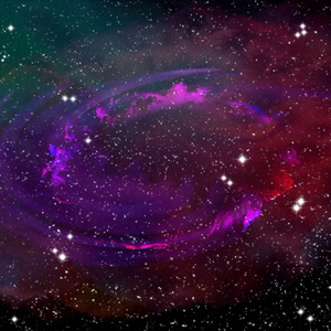 宇宙と銀河の背景素材高解像度02