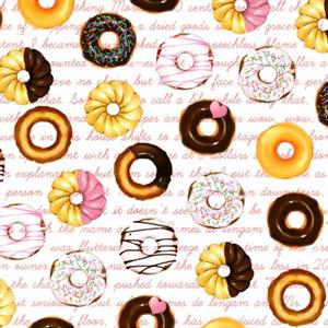 ドーナツの背景素材高解像度01