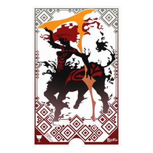 炎舞の衝突/スマホスタンド[カードコレクト]
