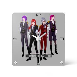 ヴィジュアル系バンドNot-MUTEアクリル時計 150x150
