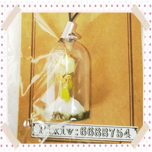 🌹 薔薇の小瓶キーホルダー 🌹