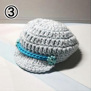 💙 サマーカラー帽子 💙