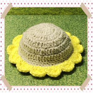 💙 ひまわり帽子 💙
