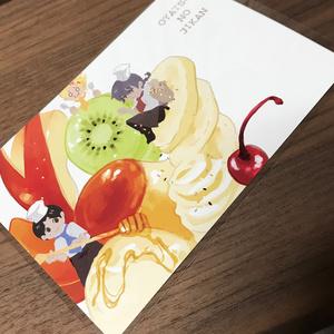 ポストカード(おやつのじかん)