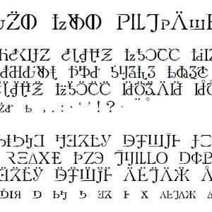 にほんごのためのアルファベット