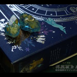 魔鉱石のピアス