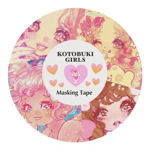 Kotobuki GIrls☆マスキングテープ