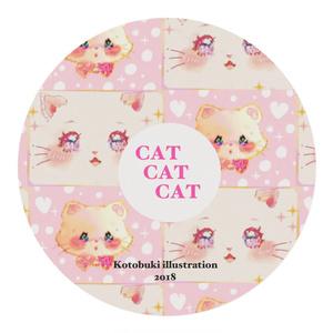 CAT☆CAT☆CAT/マスキングテープ